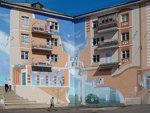 3d walls 10 Incredible 3D Painted Walls