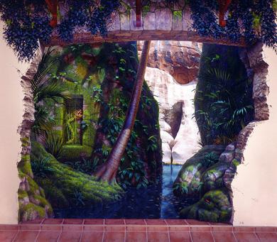 3d walls 17 Incredible 3D Painted Walls
